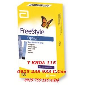 QUE THỬ ĐƯỜNG HUYẾT Optium Freestyle